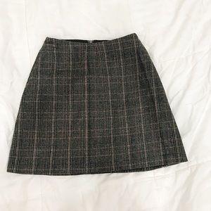 Wilfred Grey flannel mini skirt